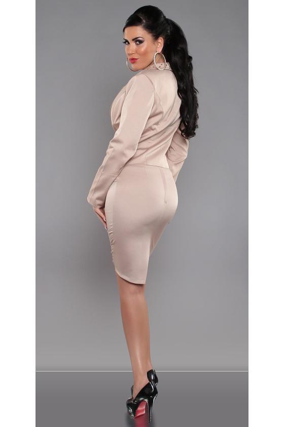 """Suknelė dekoruota atogražų raštais """"Cora"""""""