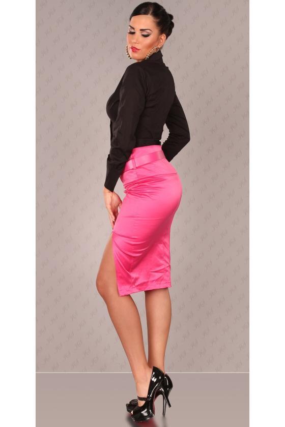 Raudonos spalvos elegantiškos kelnės 118882 Colett_146207