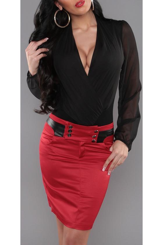 Dviejų pusių plius dydžių džinsai