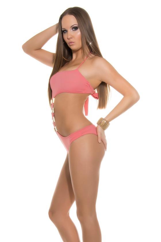 Mėlyni džinsai su juodais nėriniais K600-316_146317
