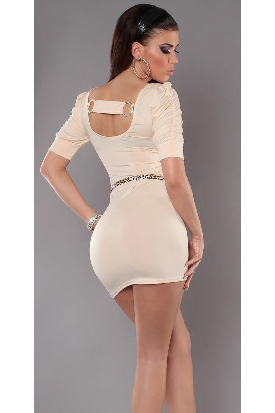 Pilkos spalvos megztinis LS309