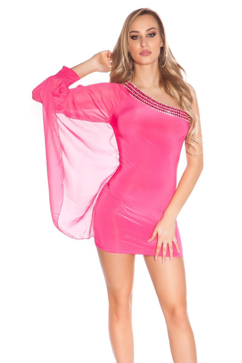 Pilkos spalvos laisvalaikio suknelė L348_146669