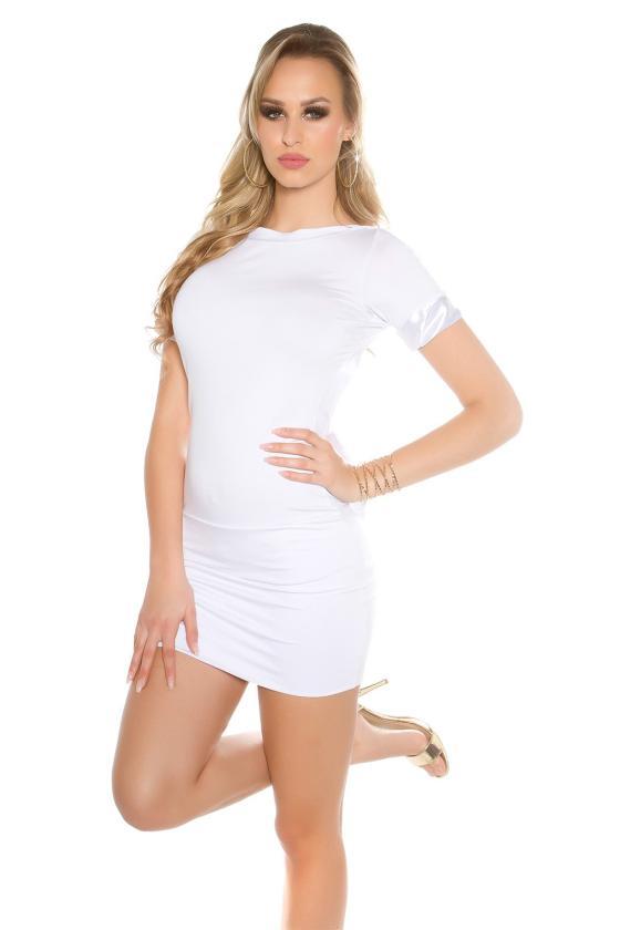 Pilkos spalvos laisvalaikio suknelė L348_146671