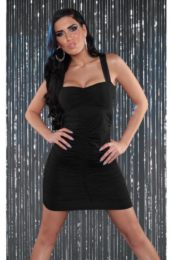 Kapučino spalvos laisvalaikio suknelė L347_146711