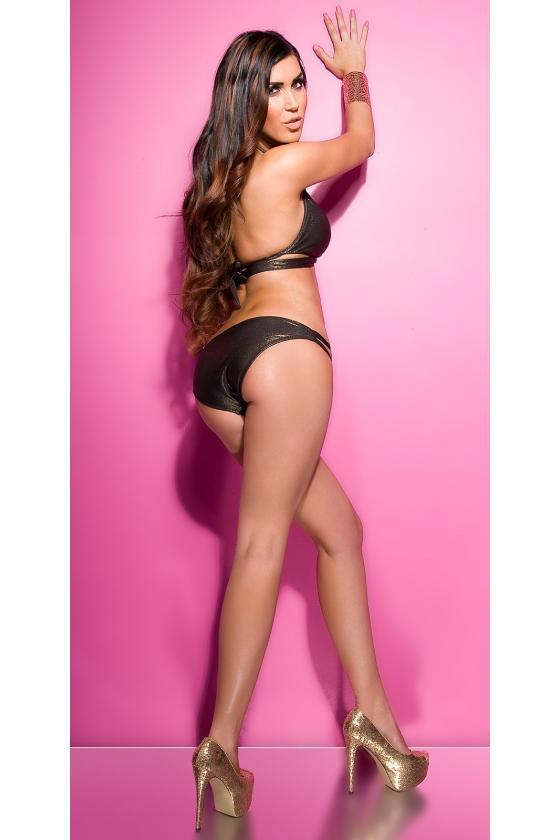 Pilkos spalvos laisvalaikio suknelė L347