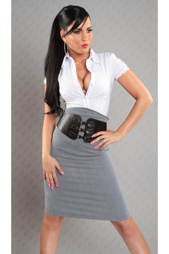 Smėlio spalvos laisvalaikio suknelė L347