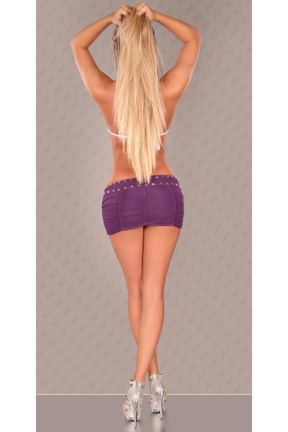 Tamsiai pilkos spalvos laisvalaikio suknelė L346
