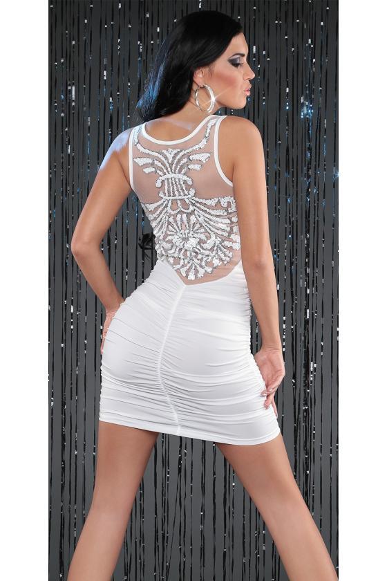 Tamsiai pilkos spalvos laisvalaikio suknelė L346_146748