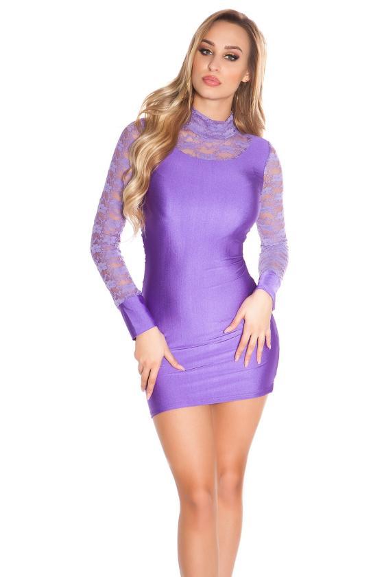 Smėlio spalvos laisvalaikio suknelė L346