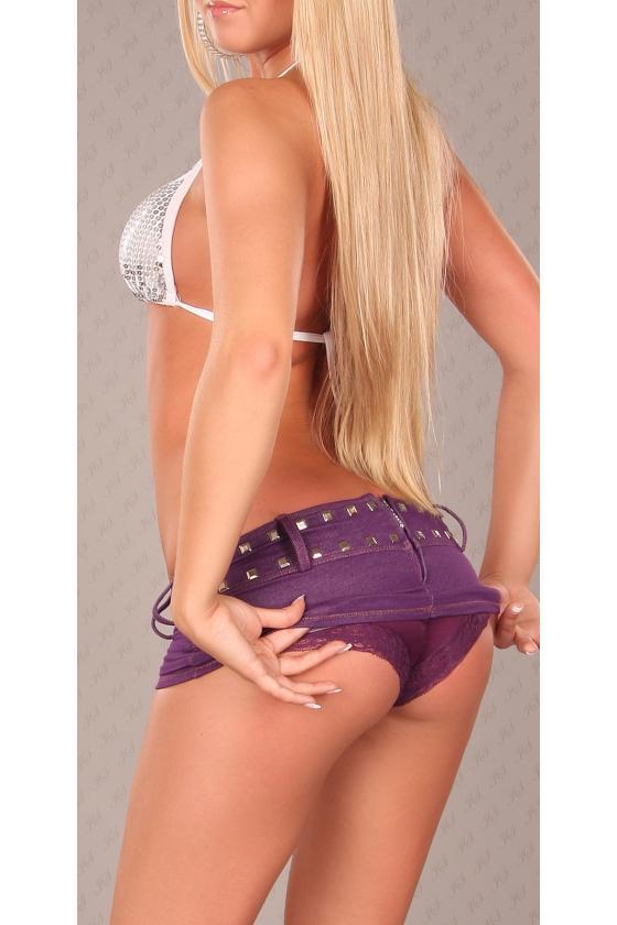 Raudonos spalvos surišama suknelė L345_146774