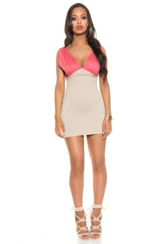 Elegantiška žalia palaidinė-marškiniai su kaspinu_147093
