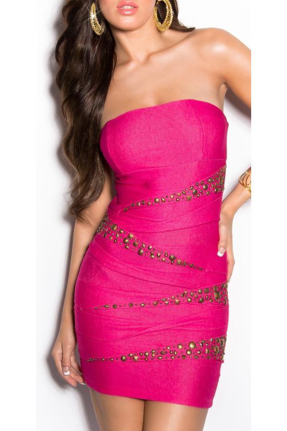 Ilga balta laisvalaikio suknelė 220-4_147100