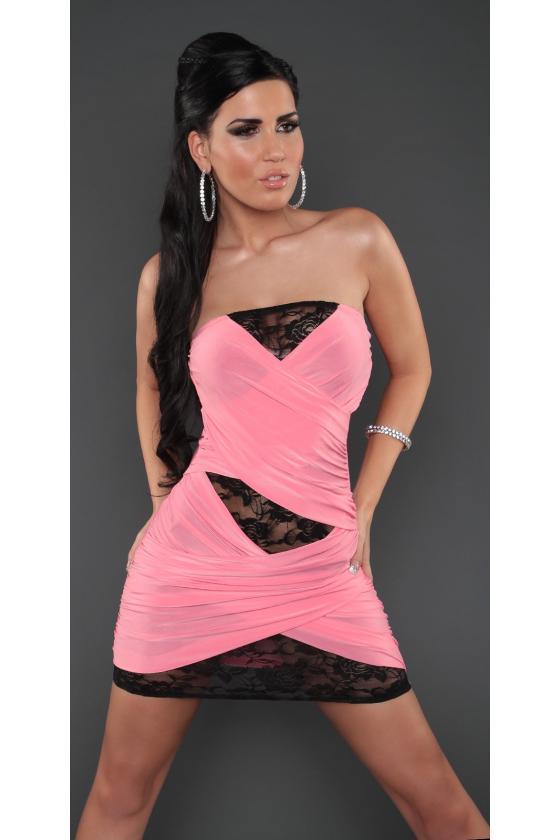 Ilga žalia laisvalaikio suknelė 220-7_147111