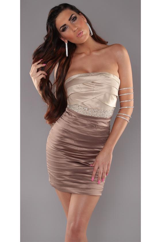 Ilga pilka laisvalaikio suknelė 220-6_147122