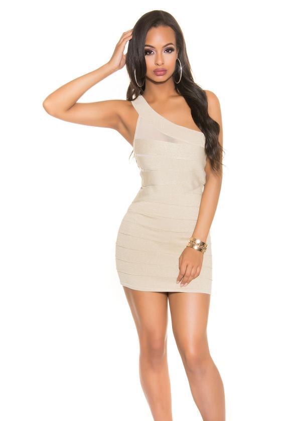 Ilga chaki spalvos laisvalaikio suknelė 220-1_147131