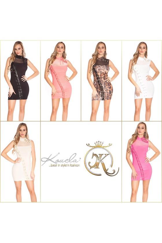 Kokteilinės suknelės modelis 108511 Jersa