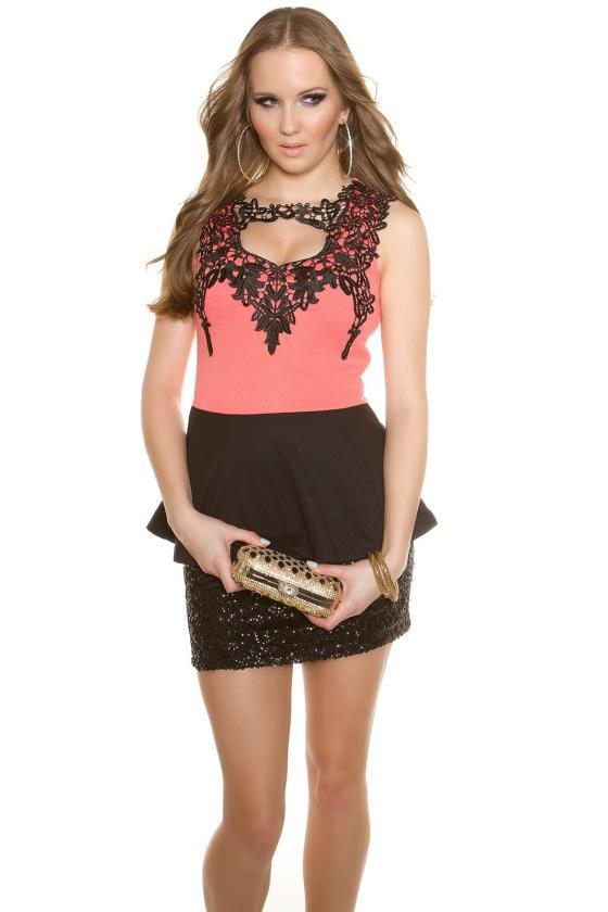 Juodos spalvos paltas M1840_147943