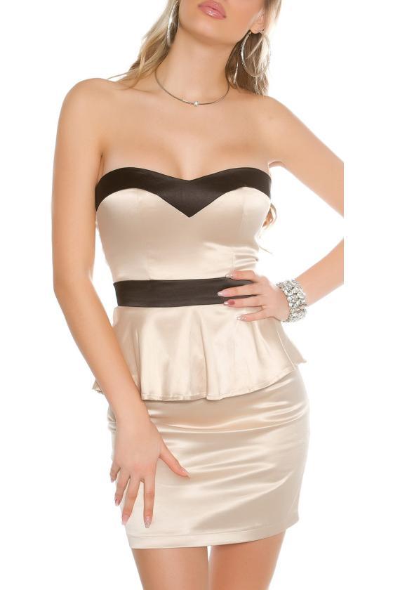 Rudos eko odos sijonas