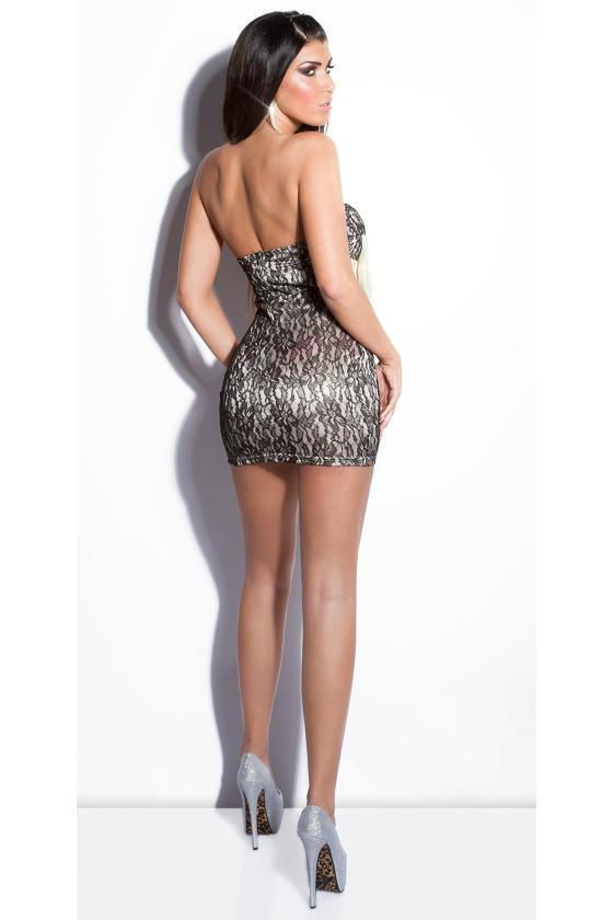 Juodos spalvos odos imitacijos suvarstomos kelnės_148286