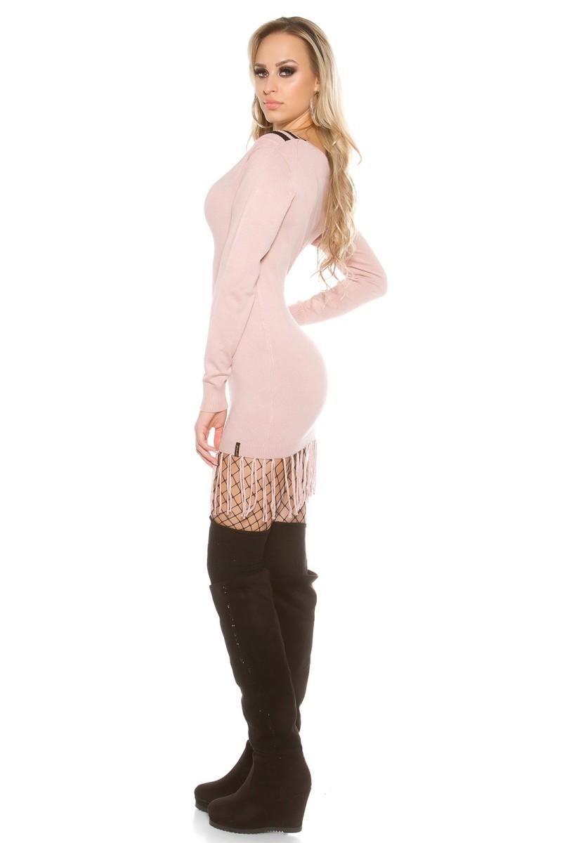 Pilka gipiūrinė suknelė_148294