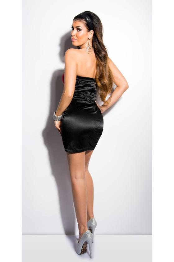 Safyro spalvos gipiūrinė suknelė_148302