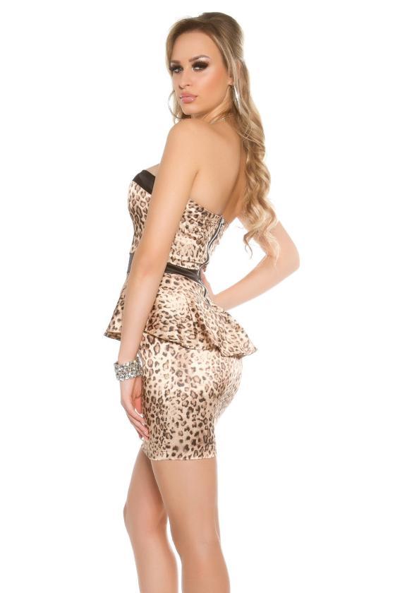 Tamsiai mėlynos spalvos gipiūrinė suknelė_148309