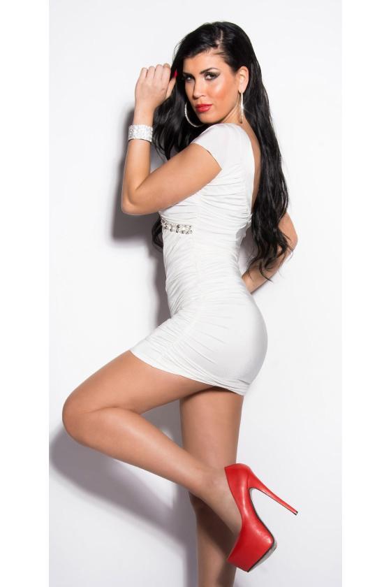 Juodas šlapio efekto kostiumas su suvarstymu_148346