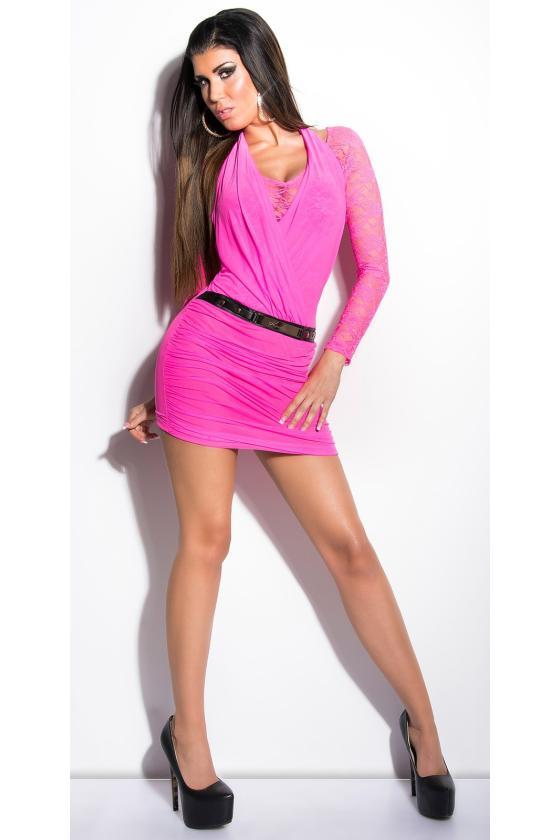 Rausvos spalvos suknelė 64632_148512