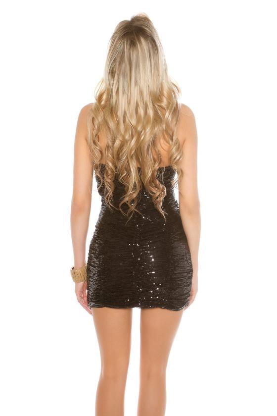 Alyvų spalvos suknelė 9004