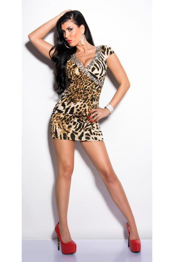 Kapučino spalvos suknelė 9004