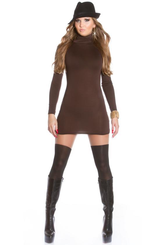 Geltonos spalvos suknelė 9004