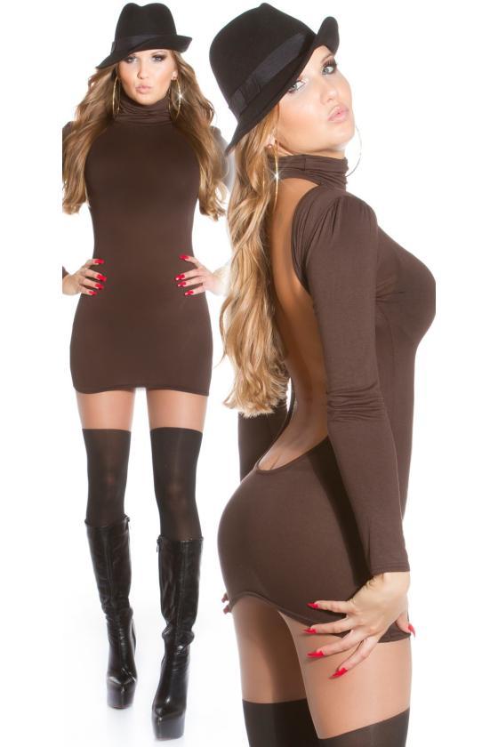 Juodos spalvos ilga prabangi suknelė_148746