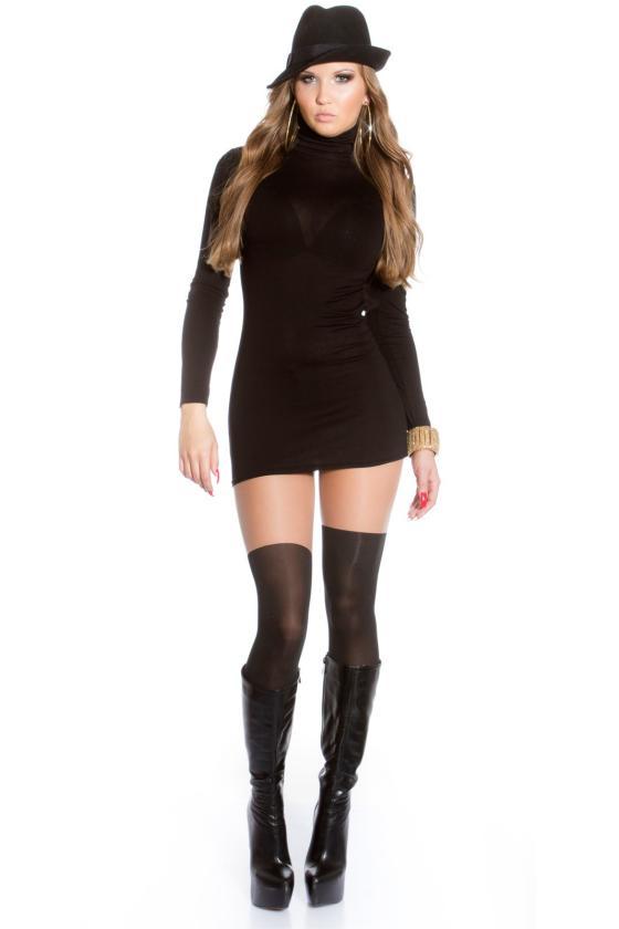 """Žalios spalvos """"oversize"""" laisvalaikio suknelė"""