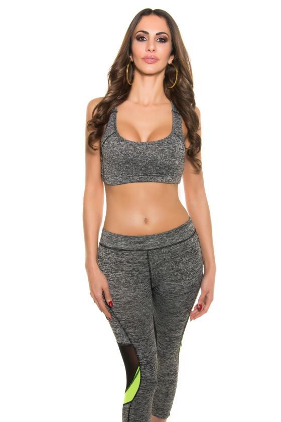 Elastinga fuksijų spalvos suknelė dekoruota sagomis_148905