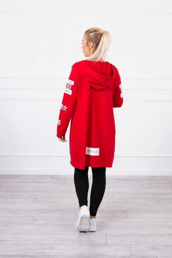 Raudonos spalvos apsiaustas 033_149749