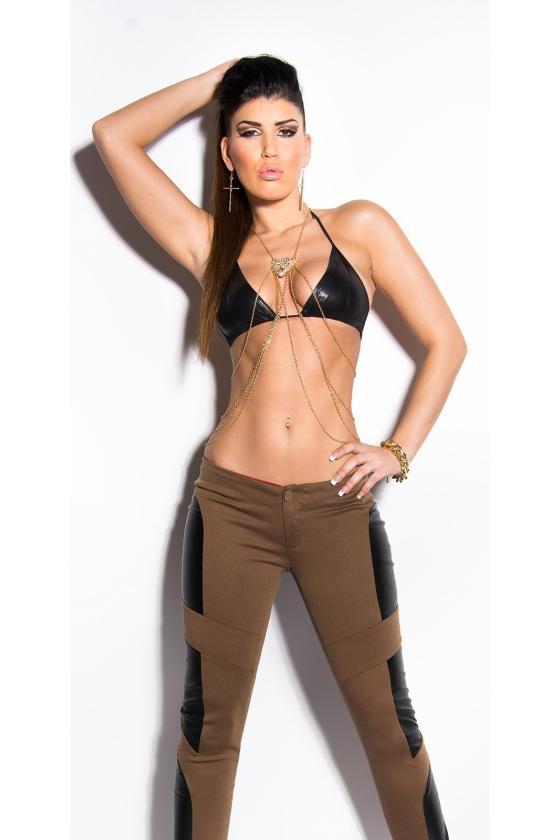 """Smėlio spalvos suknelė """"KESI""""_149866"""