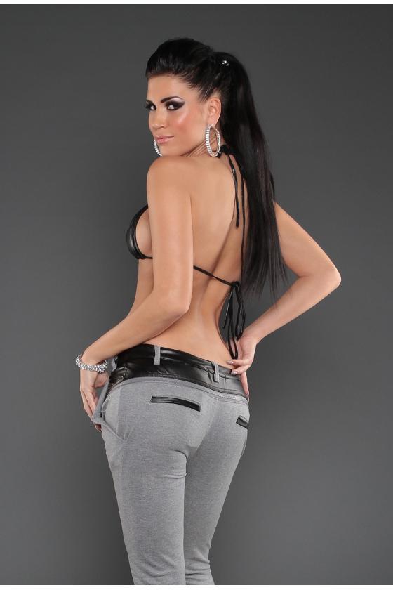 Džinsinė suknelė su dirželiu_149904