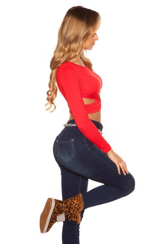 Juodos spalvos trumpa suknelė su blizgiais kūtais_149912