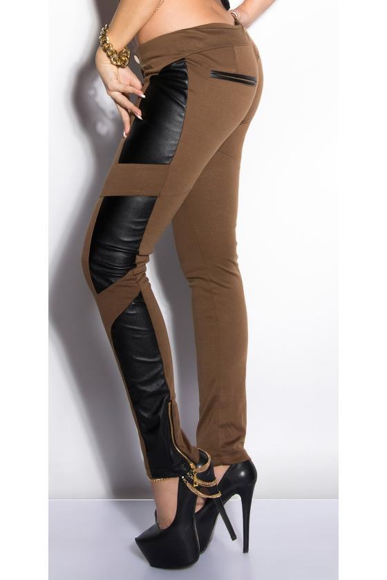 Juodos spalvos trumpa suknelė su blizgiais kūtais_149914