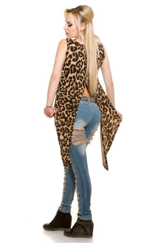 Chaki spalvos megztinio tipo suknelė_150164