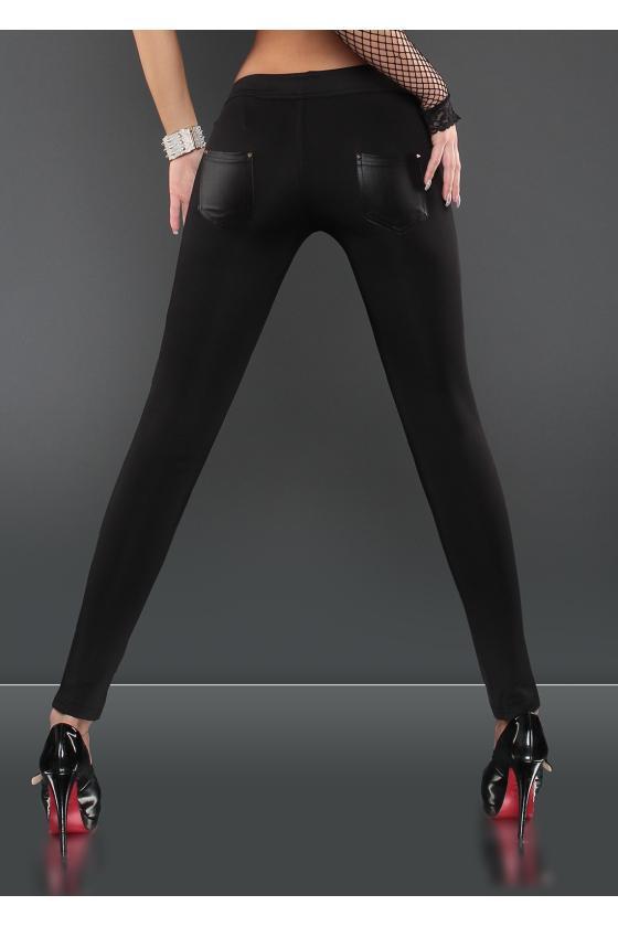Geltonos spalvos megztinio tipo suknelė_150170