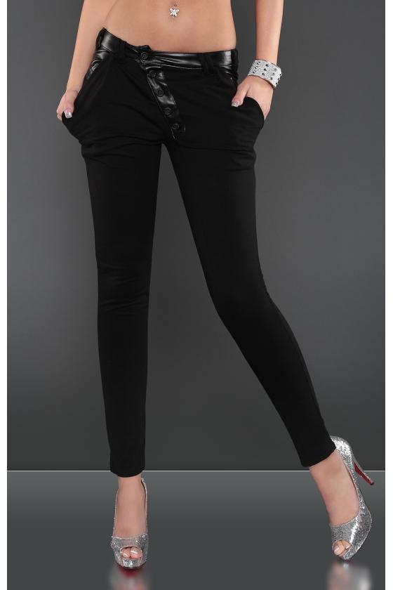 Juodos spalvos megztinio tipo suknelė_150182