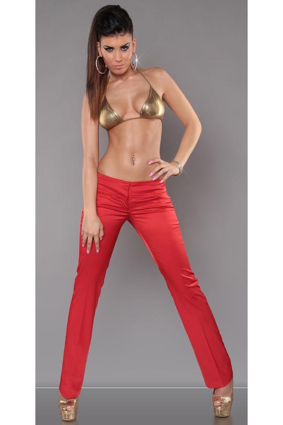 Neoninės rožinės spalvos laisvalaikio komplektas su oversize palaidine_151156
