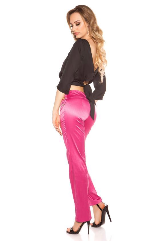 Raudonos spalvos suknelė su kapišonu ir kišenėmis_151197
