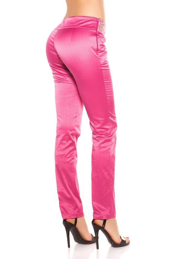 Raudonos spalvos suknelė su kapišonu ir kišenėmis_151198
