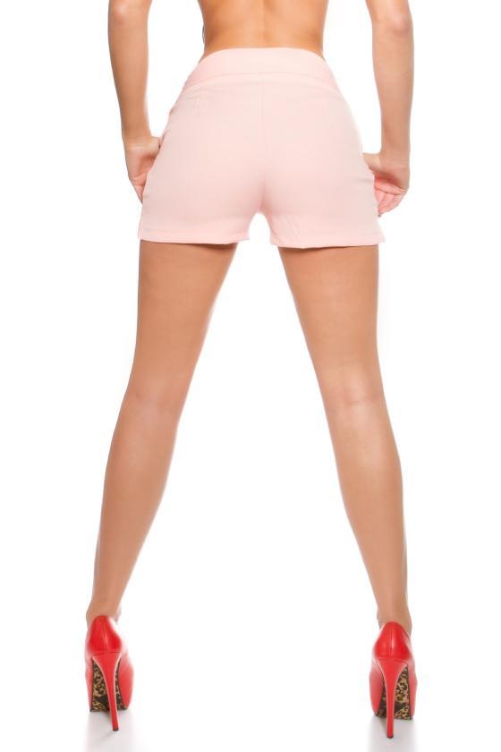 Persiko spalvos suknelė su kapišonu ir kišenėmis_151242