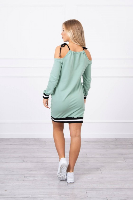 Mėtinės spalvos suknelė 62182_151378