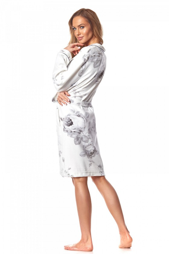 Chalatas, chalatas Szlafrok Damski Modelis Julietta 2032 White - L&L kolekcija_151497