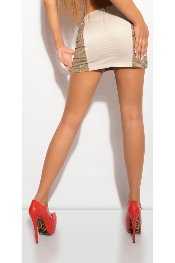 Grafito spalvos suknelė su dirželiu_151553