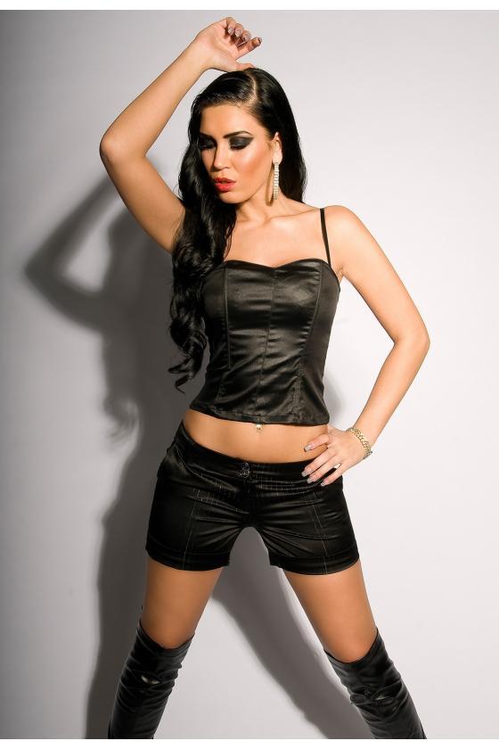 Violetinės spalvos suknelė su dirželiu_151560